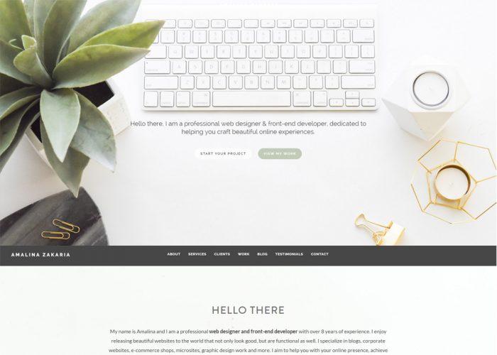 Amalina Zakaria – Web Designer & Developer