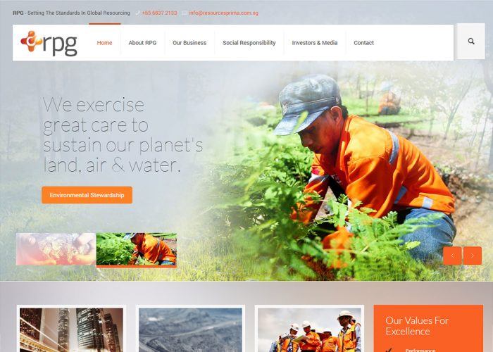 Resources Prima Group Ltd Corporate Website