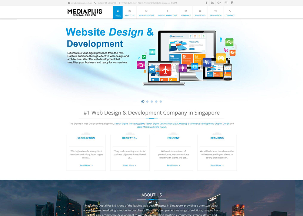 Website Design & Development Company Singapore | Website Designer
