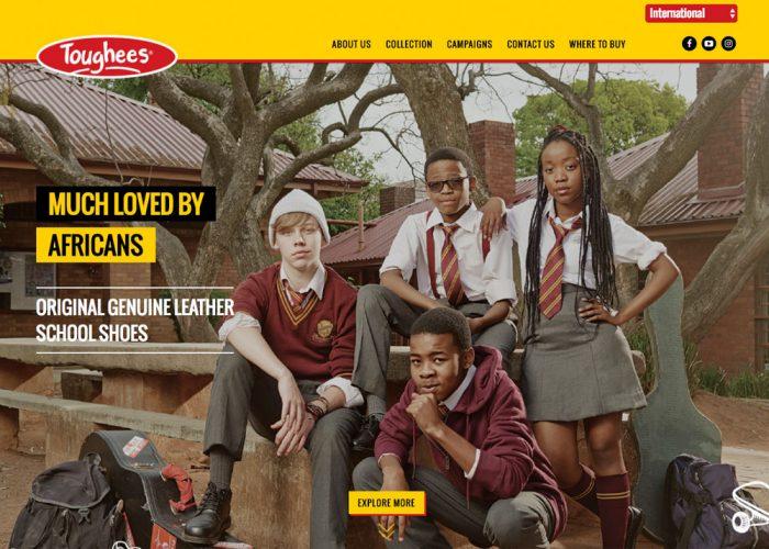Toughess Shoe Global Site