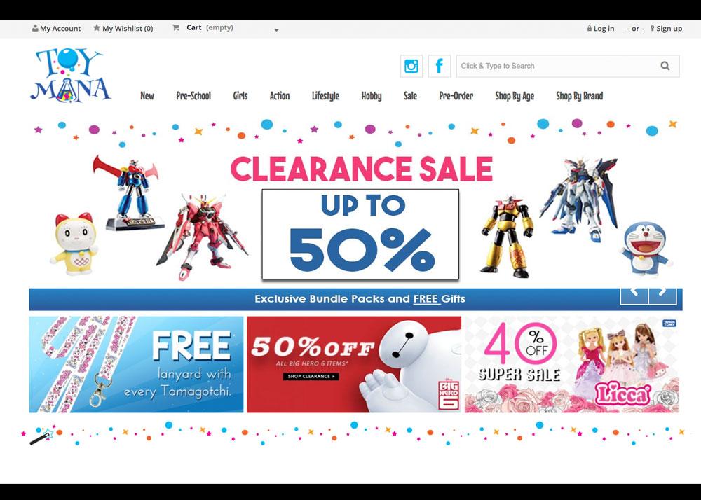 Toymana Online Toy Store