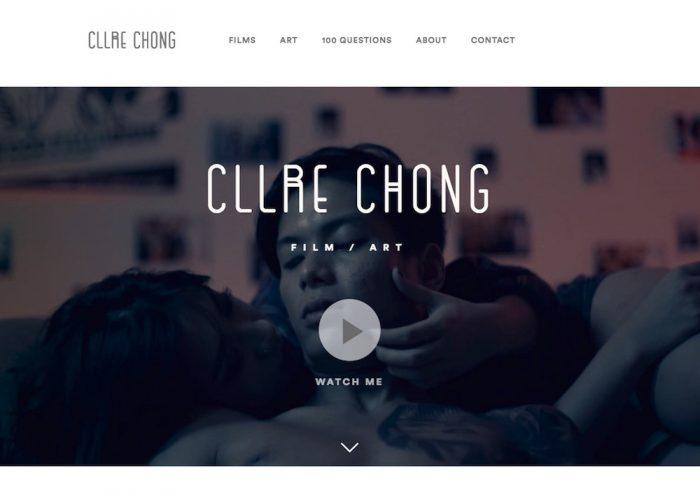 Clare Chong – Filmmaker, Artist
