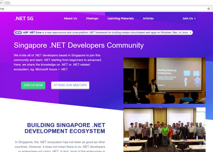 dotnet.sg – Singapore .NET Developers Community