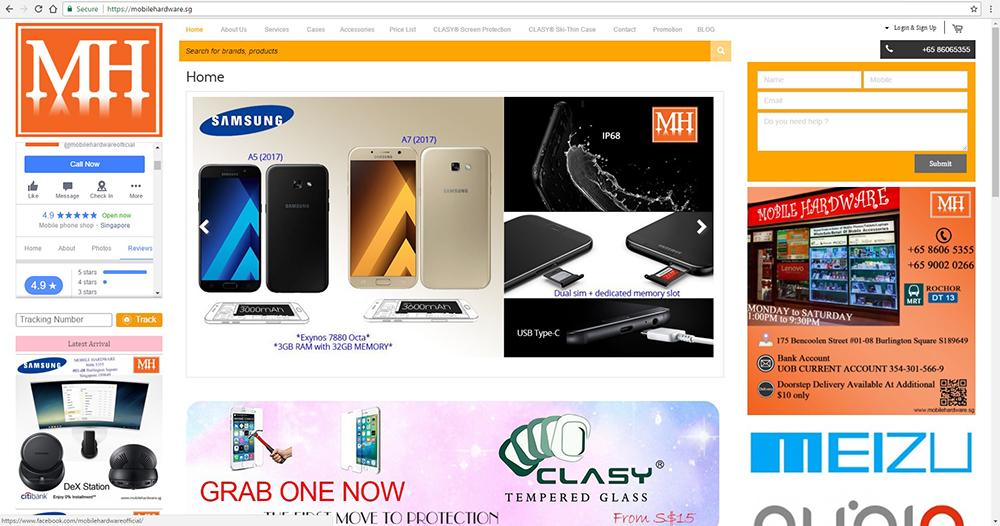 Singapore Best Mobile Shop