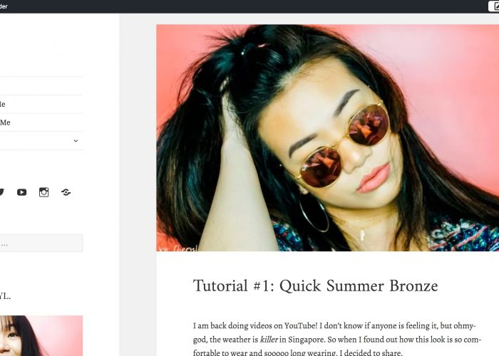 Singapore's Beauty Blog