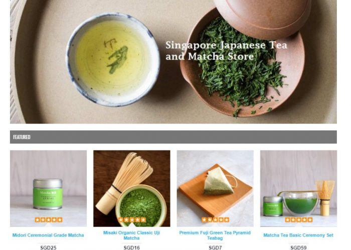 Japanese Matcha and Green Tea Singapore