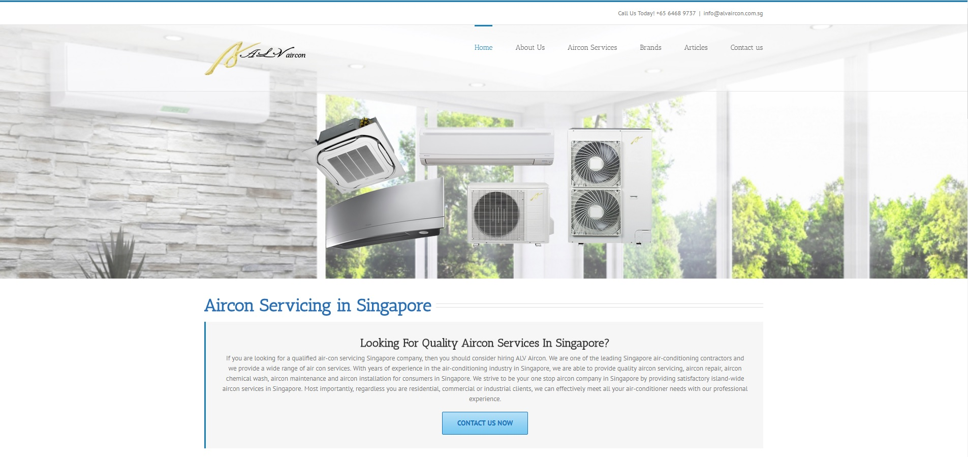 Quality Aircon Servicing in Singapore