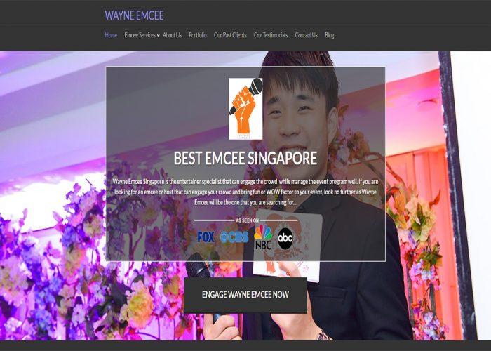 Wayne Emcee Singapore