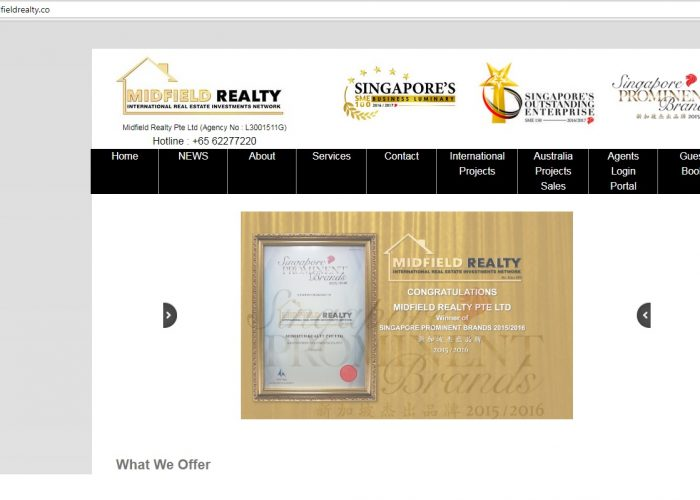 MIDFIELD REALTY PTE LTD