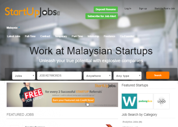 Startup Jobs Asia
