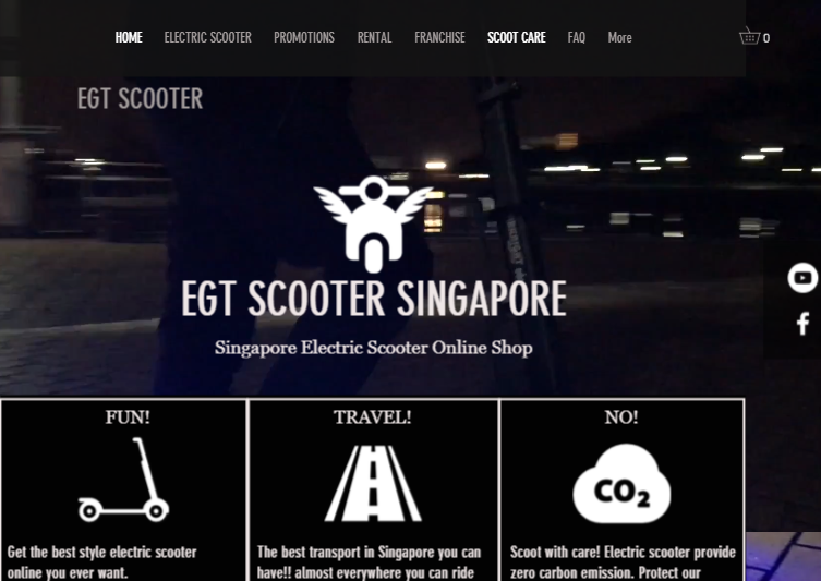 Best Electric Scooter in Singapore | Motorised Electric Scooter West