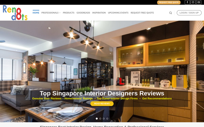 Renodots – Singapore Interior Design Reviews & Rating