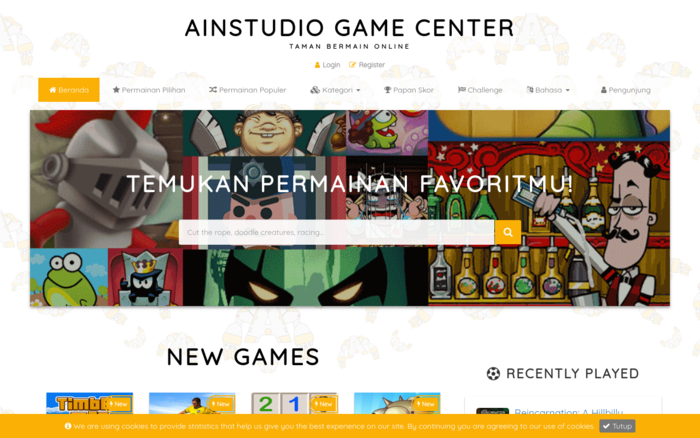 AIN  Studio Game Center