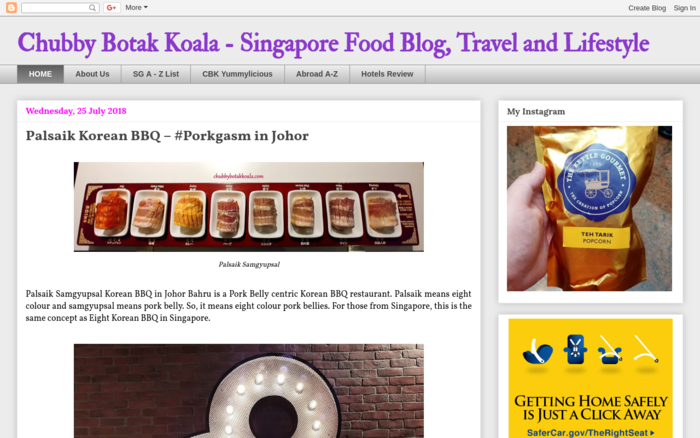 Chubby Botak Koala – Singapore Food Blog, Travel and Lifestyle