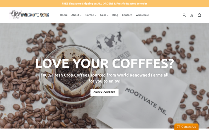 Cowpresso Coffee Roasters Singapore