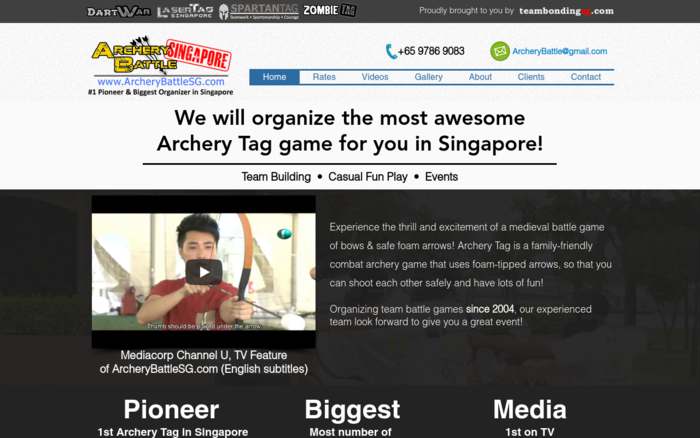 Battle Archery Tag Singapore – 1st & Biggest Organizer in Singapore!