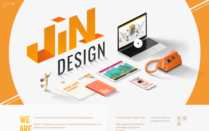 JIN Design – UI & UX Design Agency