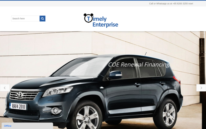 TimelyEnterprise – Hire Purchase Car Loan