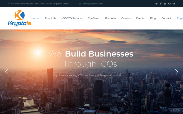 ICO/STO Advisory and Consultancy services