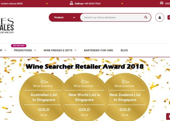 Singapore Wines Wholesales