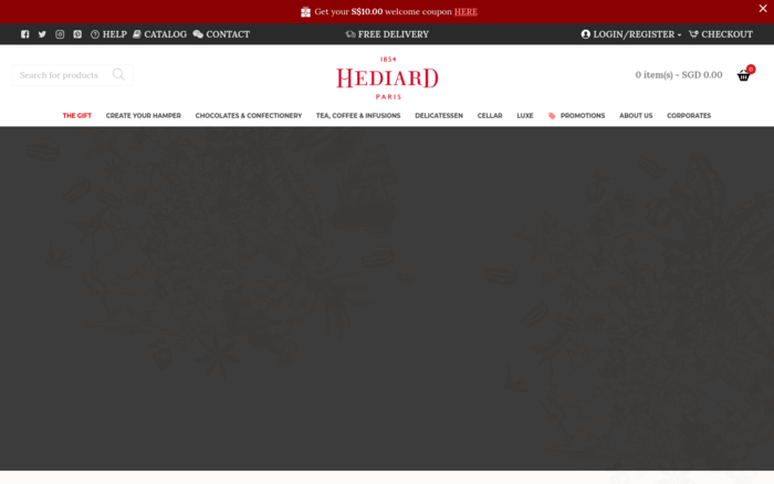 HEDIARD | Delicatessen, Gourmet gifts, Chocolates, Tea, Coffee