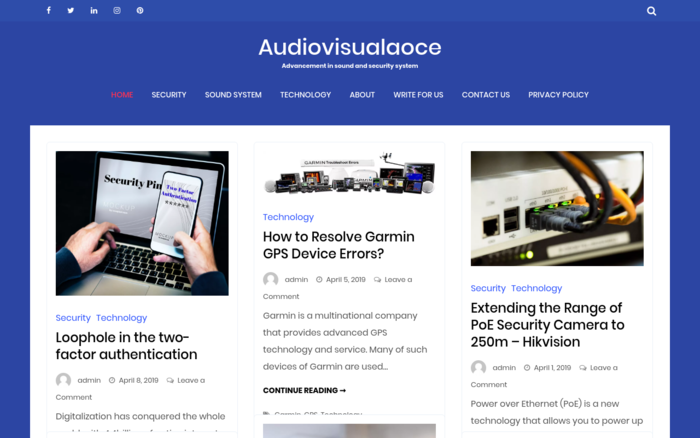 Audiovisualaoce.com