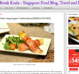 Chubby Botak Koala - Singapore Food Blog, Travel and Lifestyle