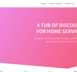 A TUB OF DISCOUNTS FOR HOME SERVICES!