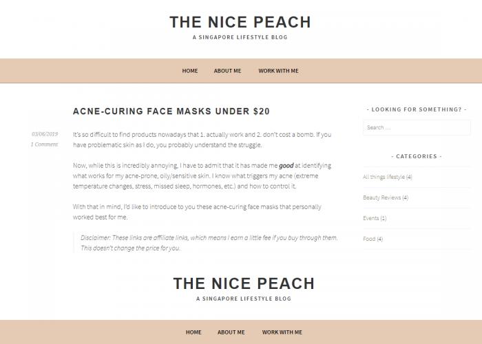 The Nice Peach