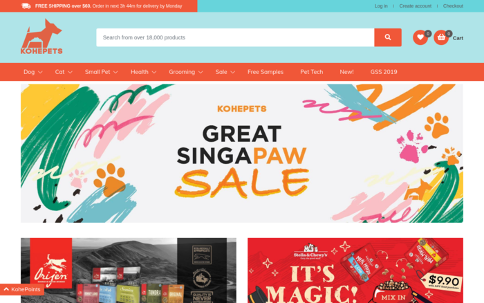 Kohepets – Singapore's Trusted Online Pet Store