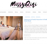 MissyQiqi - A Fashion Lifestyle, Cooking and Parenting Blog