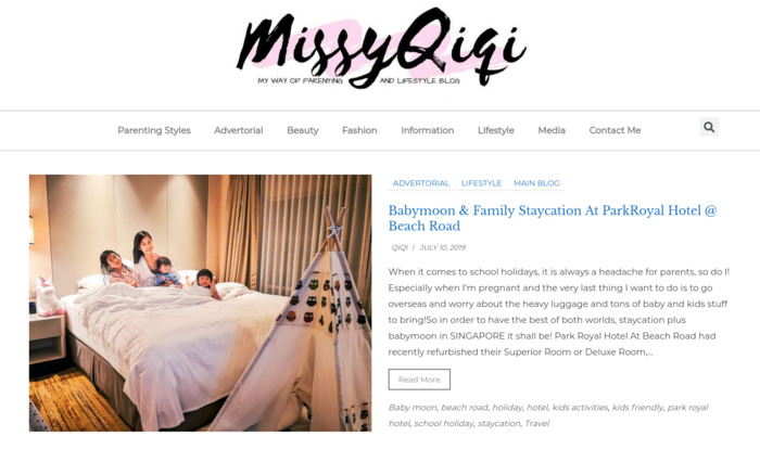 MissyQiqi – A Fashion Lifestyle, Cooking and Parenting Blog