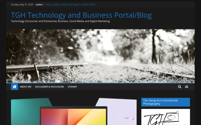 TGH Technology and Business Portal/Blog