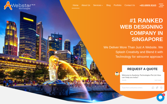 Website Design & Development Company in Singapore