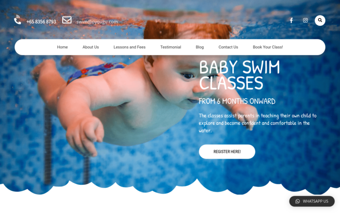 Best Swimming Lessons in Condos for Kids & Adults in Singapore