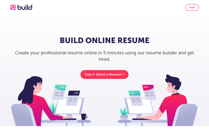 Build Resume Online