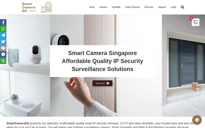 SmartCamearSG – Affordable Quality IP Security Surveillance Solutions
