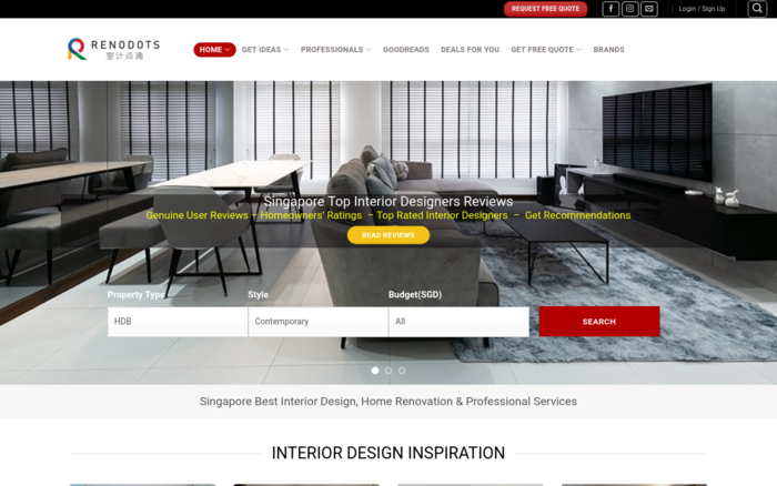 Renodots – your one-stop renovation website in Singapore